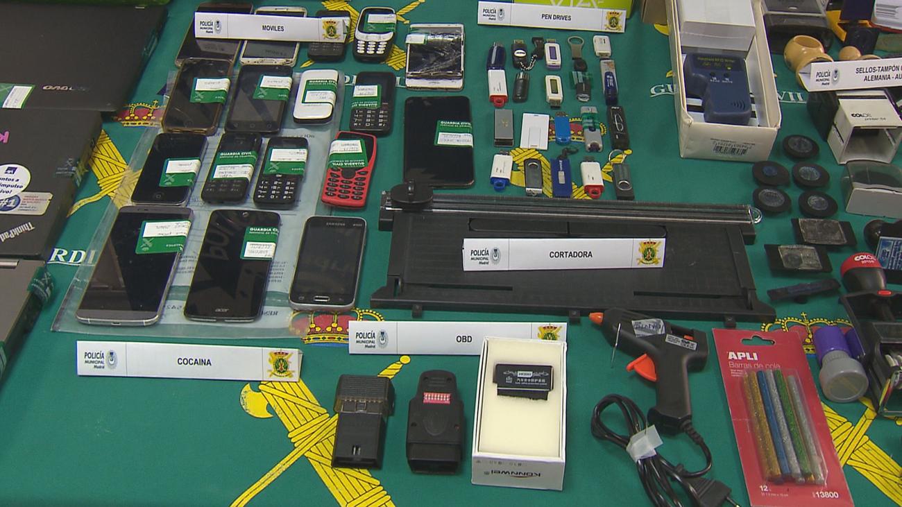 Cae una banda de ladrones de coches que empleaban las últimas tecnologías digitales