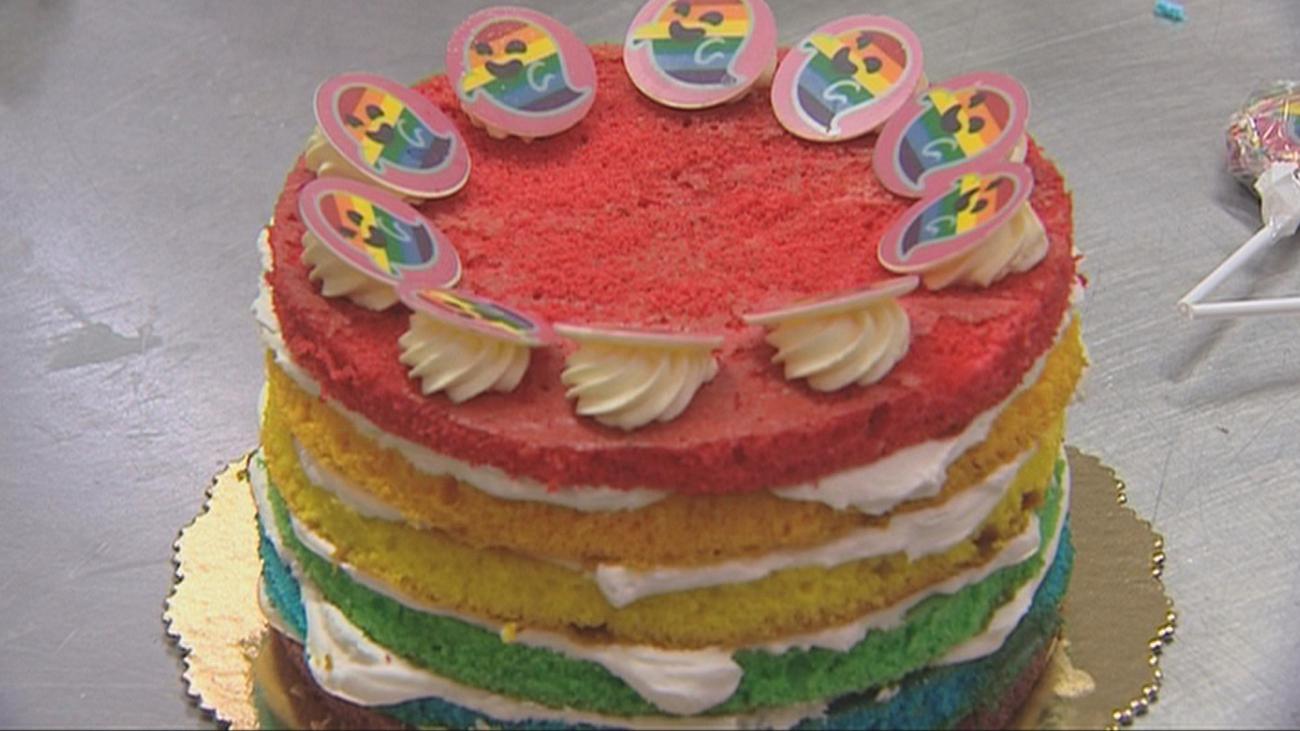 Postres con los colores del arco iris para el Orgullo LGTBI