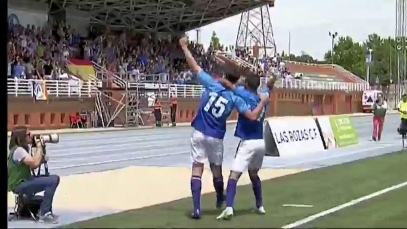 Gol de Goal, de Las Rozas CF, al Mallorca B (1-1)
