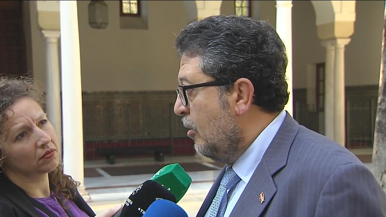 Serrano (Vox) mantiene su crítica a la sentencia, pero niega su apoyo a 'La Manada'