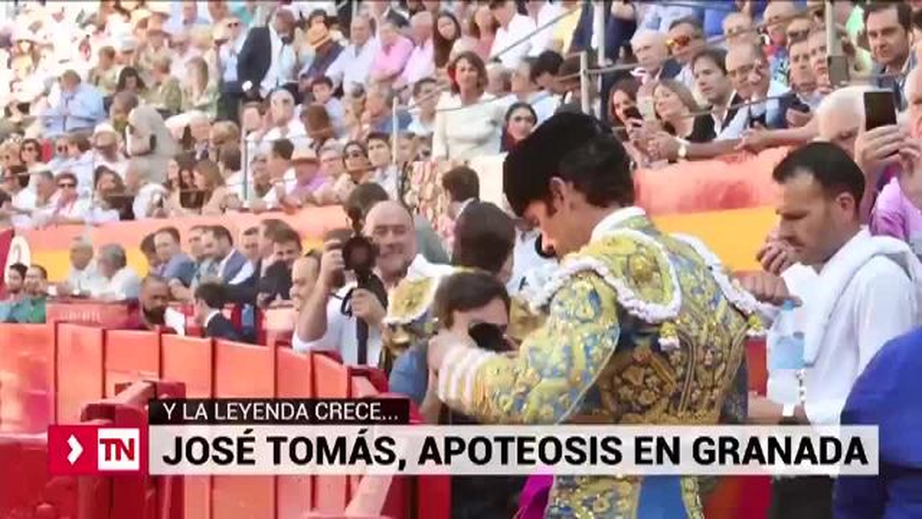 José Tomás, apoteosis en Granada