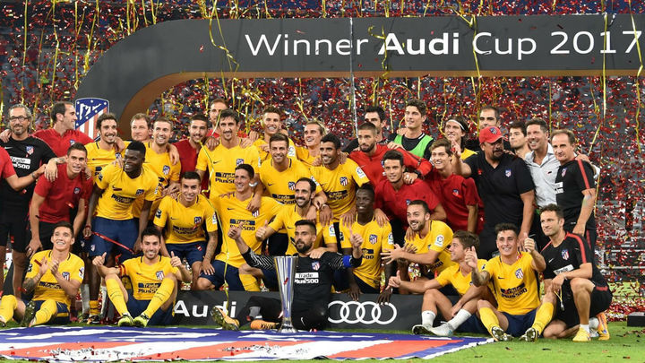 Atlético de Madrid, campeón de la Audi Cup 2017