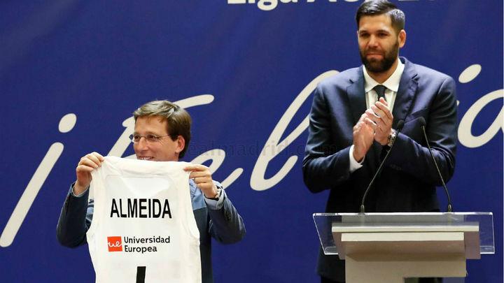 Felipe Reyes y Martínez-Almeida, juntos en Onda Madrid