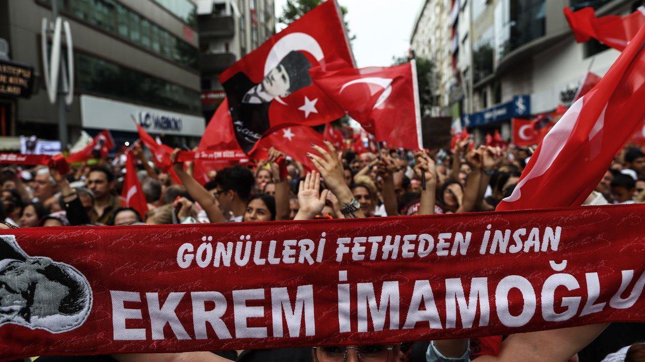 Elecciones Estambul, Ekrem Imamoglu