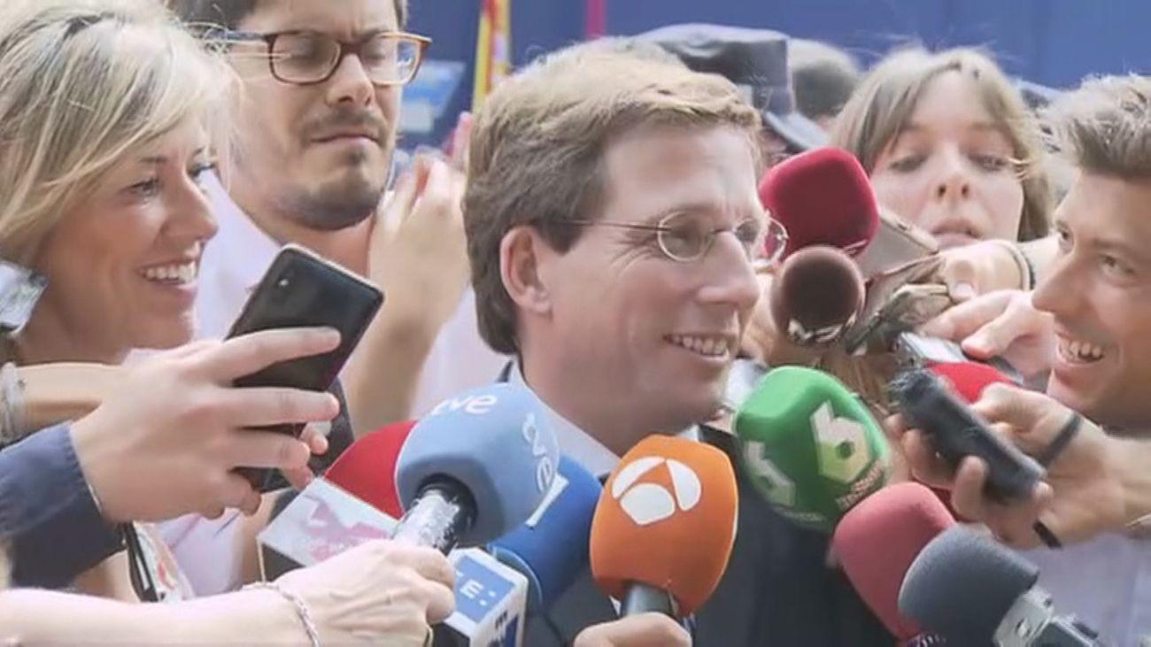"""El Gobierno de Almeida será """"fiel"""" a su compromiso de cambiar Madrid Central"""