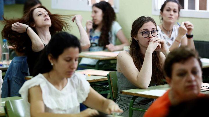 Miles de quejas en Madrid por la prueba de inglés en las oposiciones a Maestro