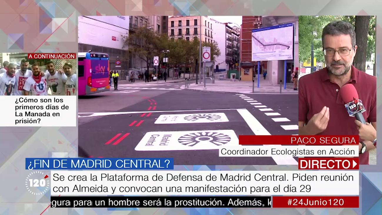 """La Plataforma de Defensa de Madrid Central: """"Hay que mantenerla, mejorarla y ampliarla"""""""