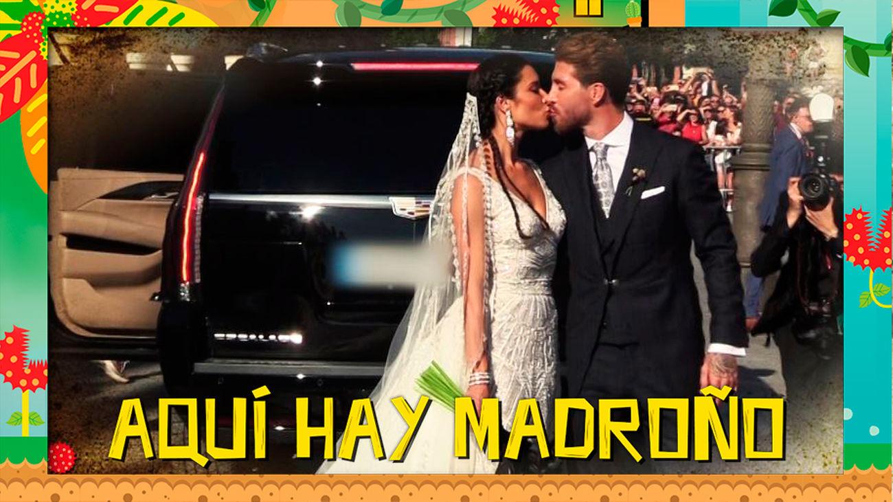Sergio Ramos y Pilar Rubio se juegan la vida en su luna de miel
