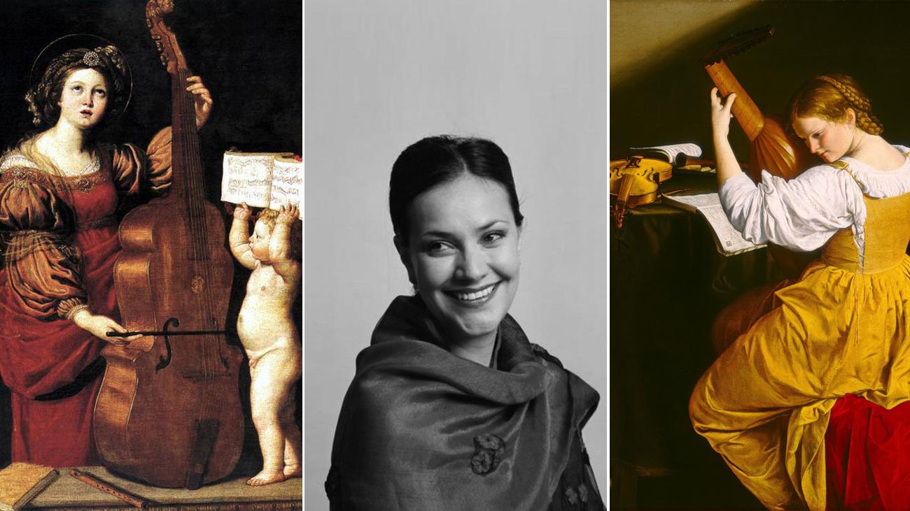 Barbara Strozzi, Roberta Invernizzi y Settimia Caccini