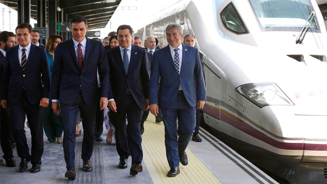 El AVE llega a Granada tras años de retrasos