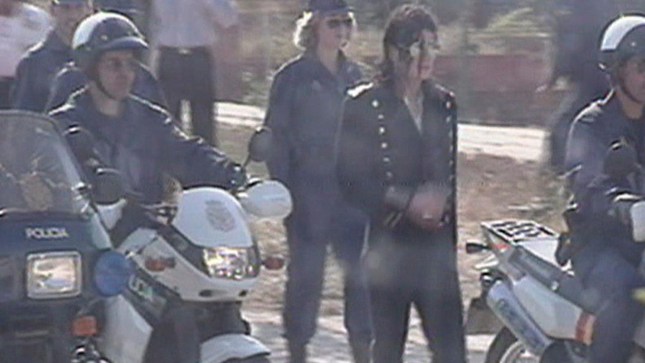 El día en que Michael Jackson grabó un vídeo con la Policía de Madrid