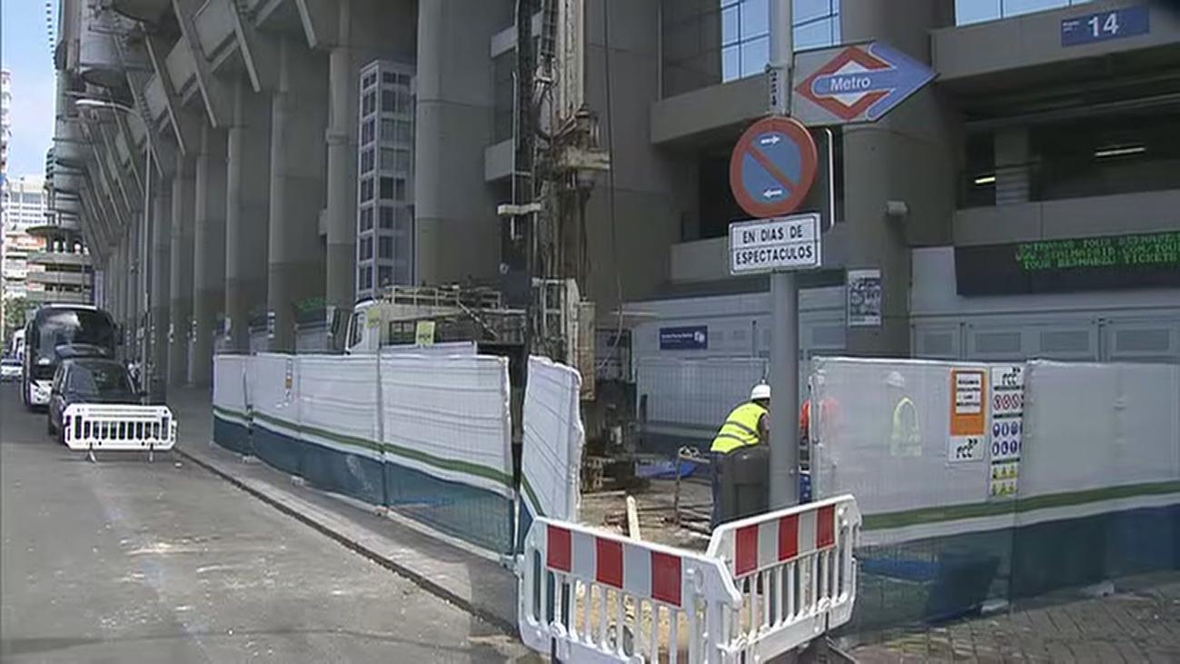 Comienzan las obras de remodelación del nuevo Bernabéu