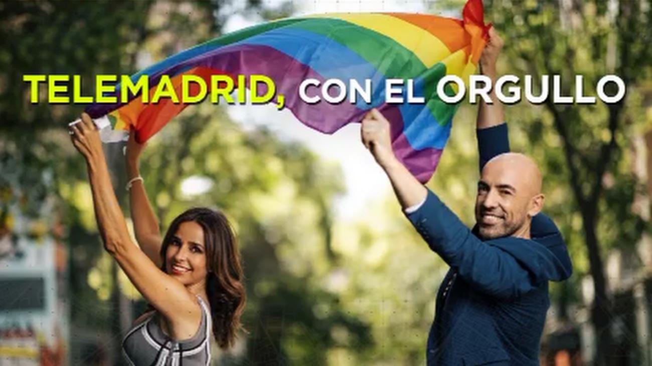 Emilio Pineda y Carmen Alcayde presentarán el especial del Orgullo en Telemadrid