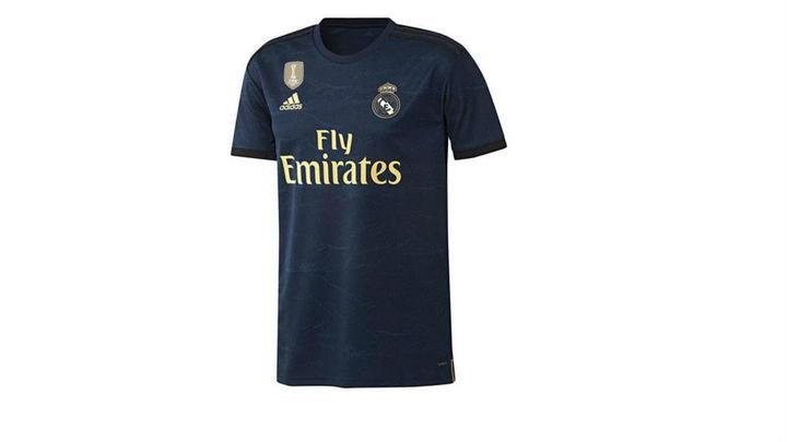 Segunda camiseta del Real Madrid