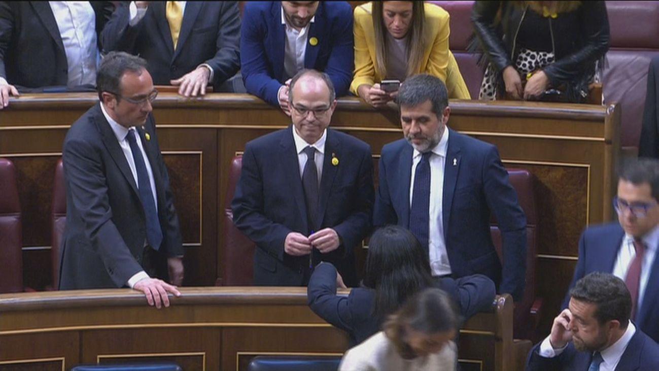 Rull, Turull y Jordi Sánchez