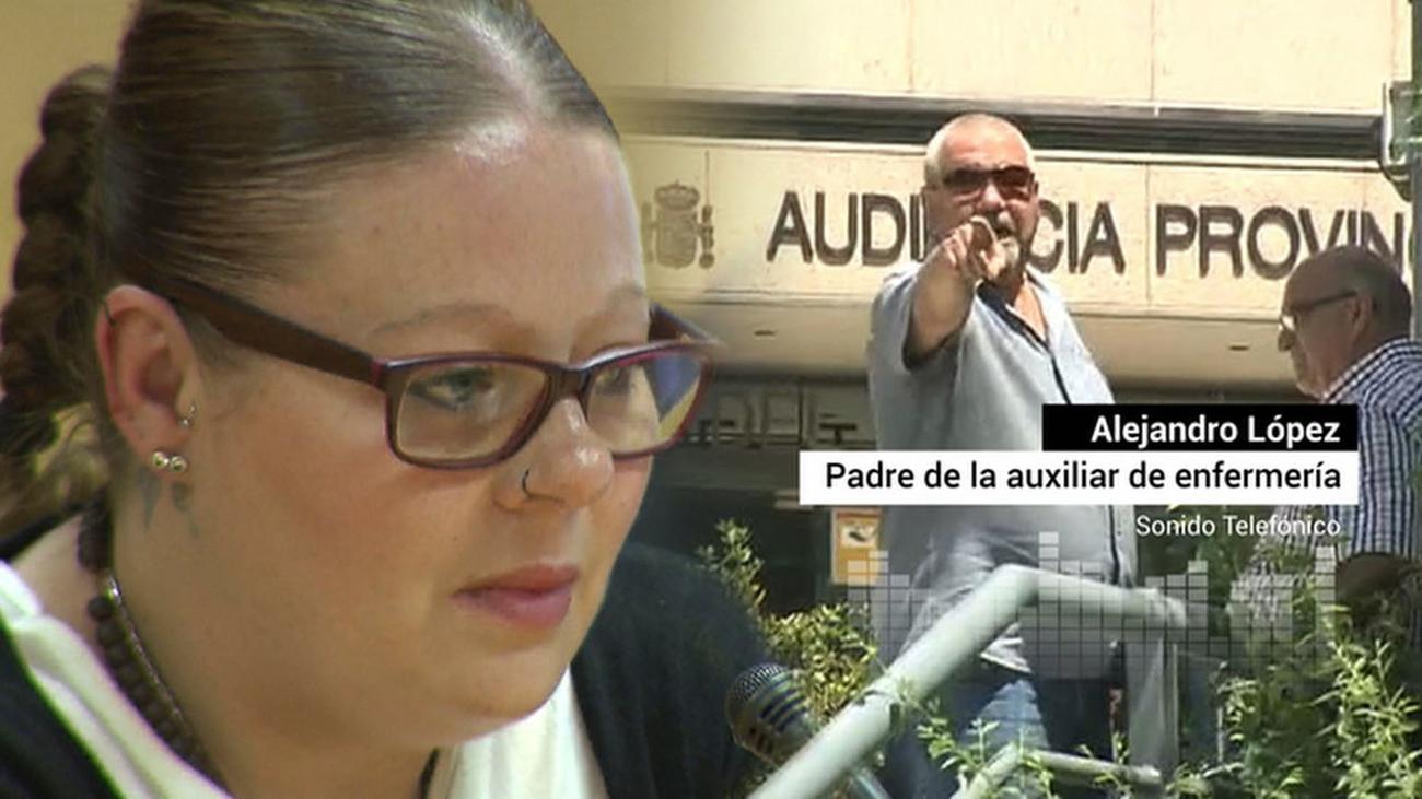 """El padre de la enfermera de Alcalá: """"Estamos ante un caso sin pruebas"""""""