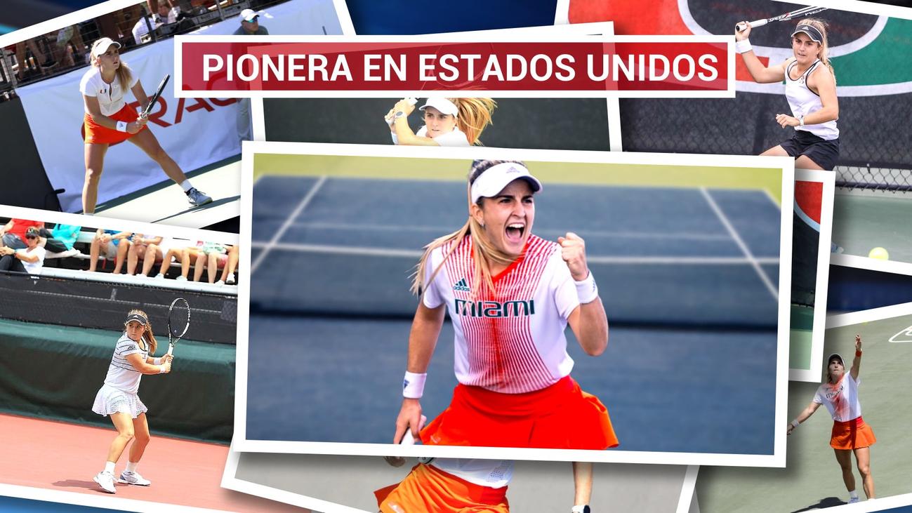 Estela Pérez-Somarriba, primera española en ganar la NCAA de tenis