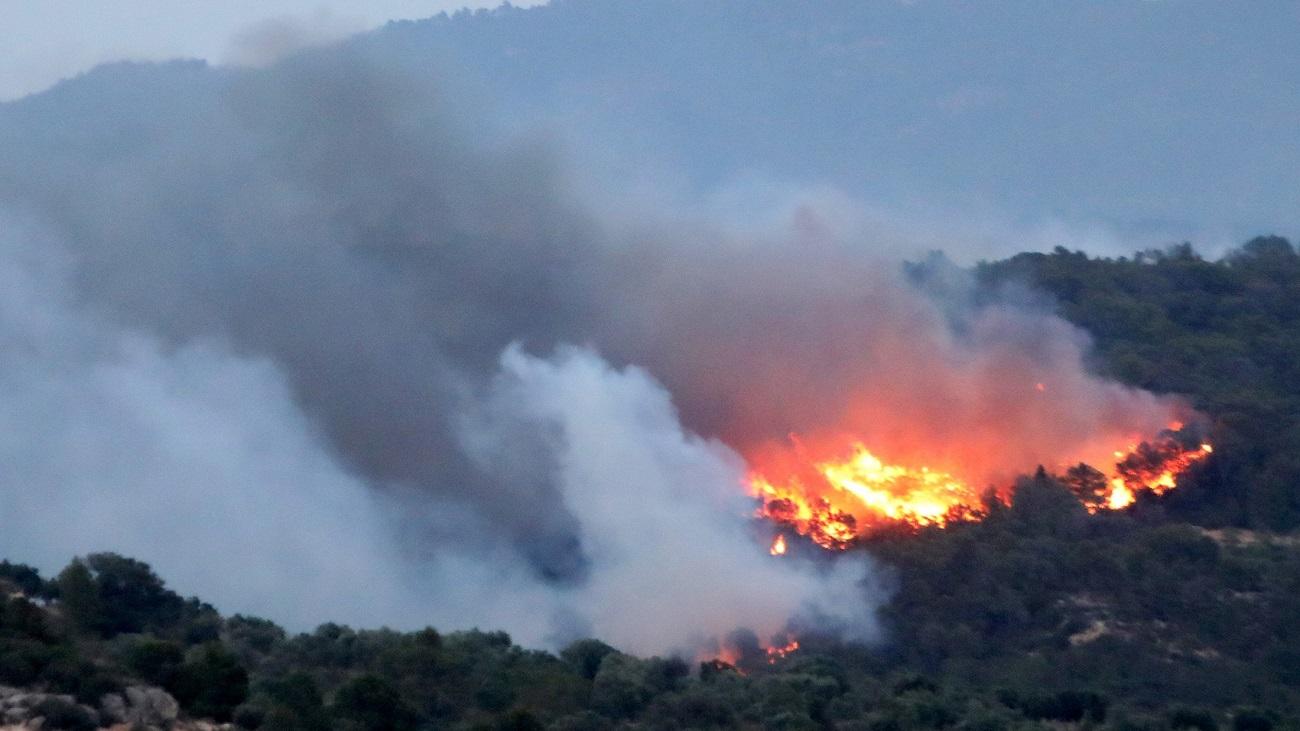 El incendio de Tarragona ya ha arrasado 5.500 hectáreas