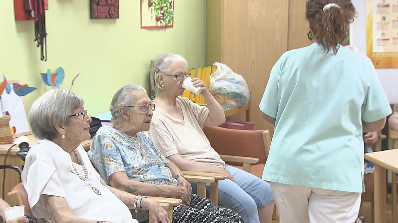 Atención especial a los mayores en las residencias