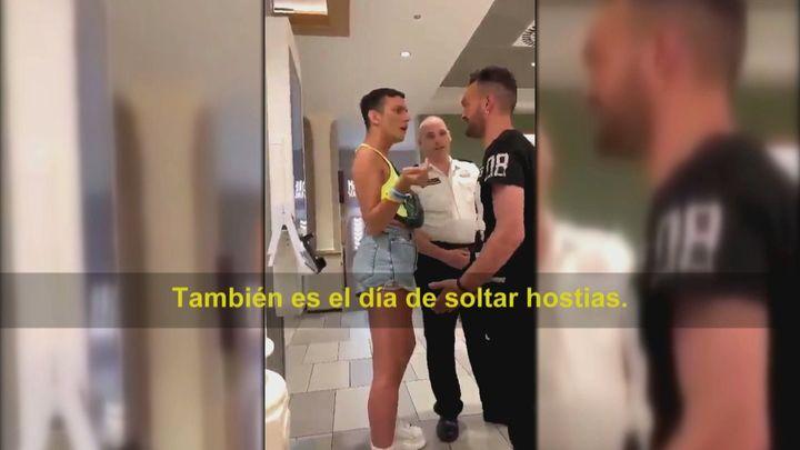 Un joven sufre un ataque homófobo en Barcelona ante un guardia de seguridad