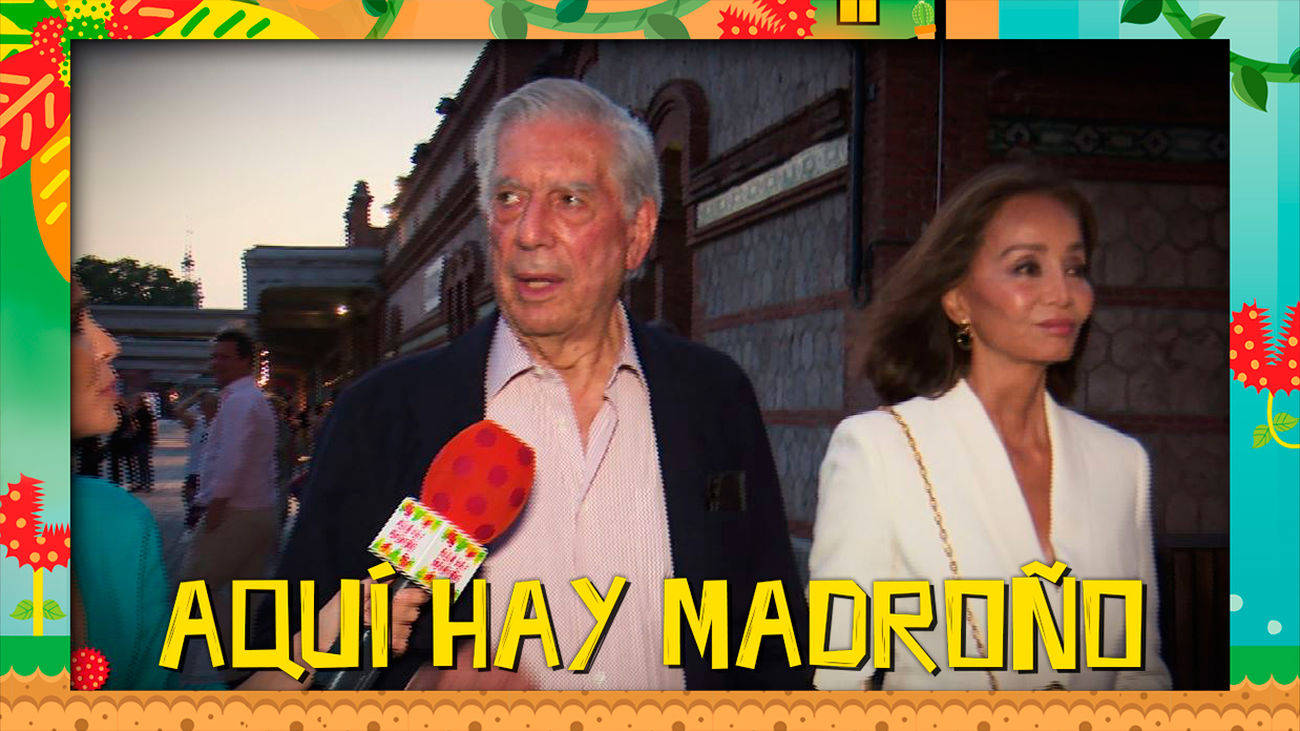 Lo que no se vio de la conexión en directo con Mario Vargas Llosa e Isabel Preysler
