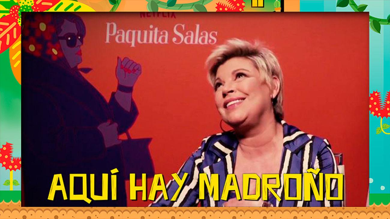 Terelu Campos y el cameo más esperado de la tercera temporada de Paquita Salas