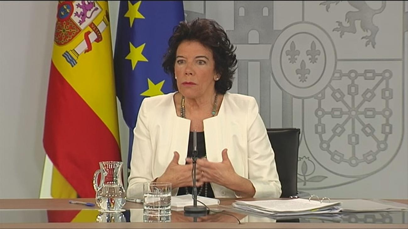 """Celaá: """"El Gobierno no quiere ir a elecciones"""""""