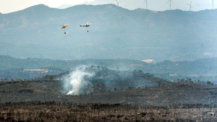 El incendio de Tarragona ya está perimetrado y en vías de estabilización