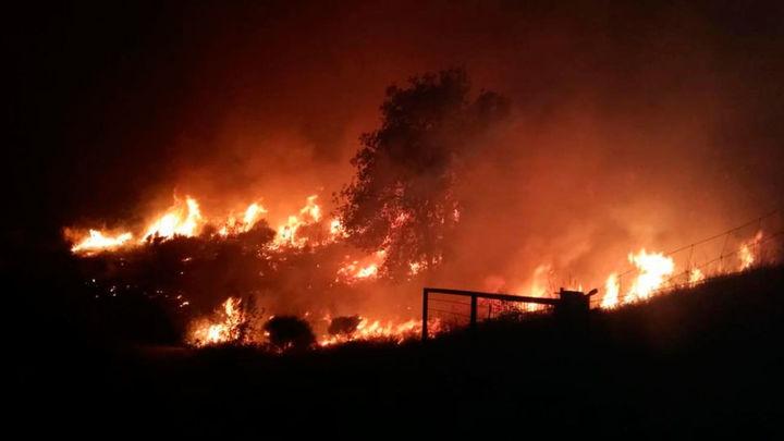 Activado el nivel 2 para combatir el incendio de Cadalso y Cenicientos