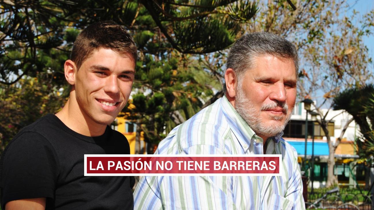Gabriel Lizoain, un apasionado del fútbol que no necesita verlo