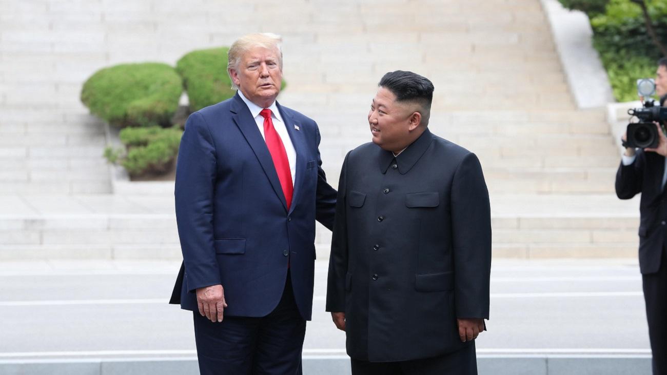 Trump se convierte en el primer presidente norteamericano en pisar Corea del Norte