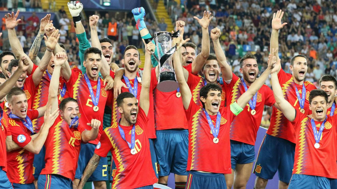 2-1. España se venga de Alemania y conquista su quinto Europeo Sub'21