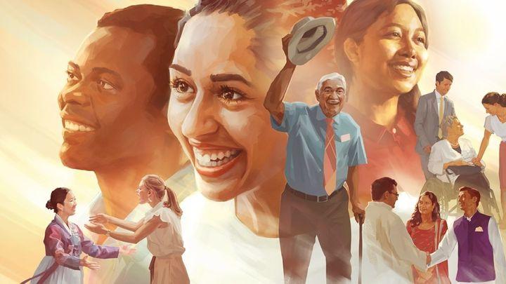 El Wanda Metropolitano acoge a más de 50.000 testigos de Jehová