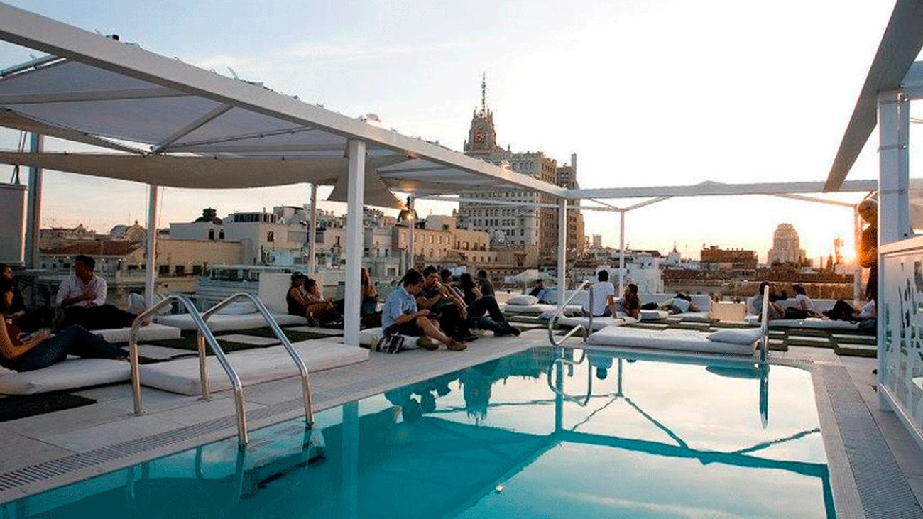 Las piscinas 'con altura' que están triunfando en Madrid