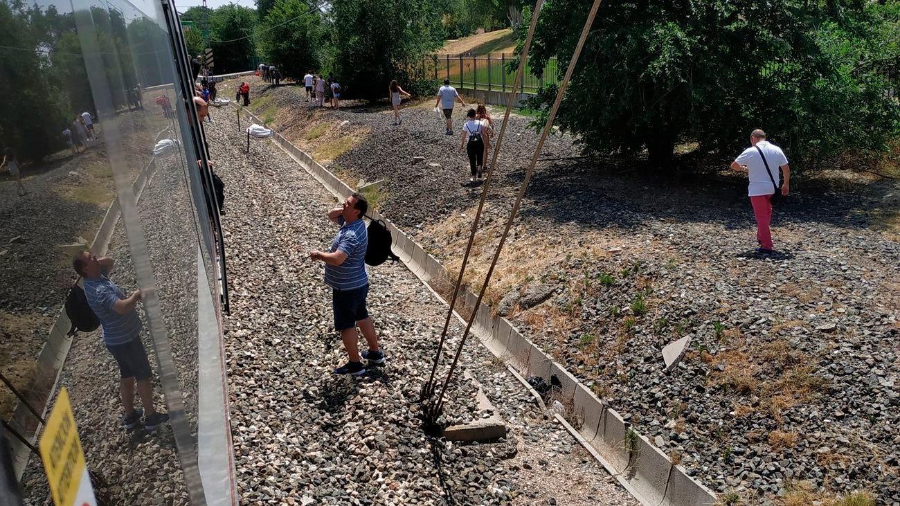 Más de 8 horas con la línea C-3 de Cercanías Madrid interrumpida
