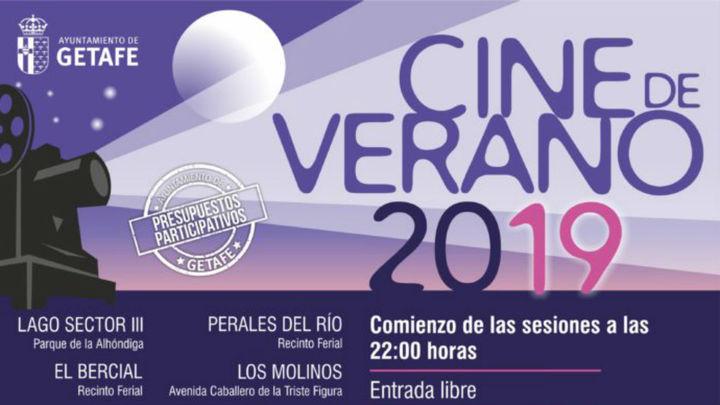 Vuelve el cine de verano a Getafe con 14 películas gratis