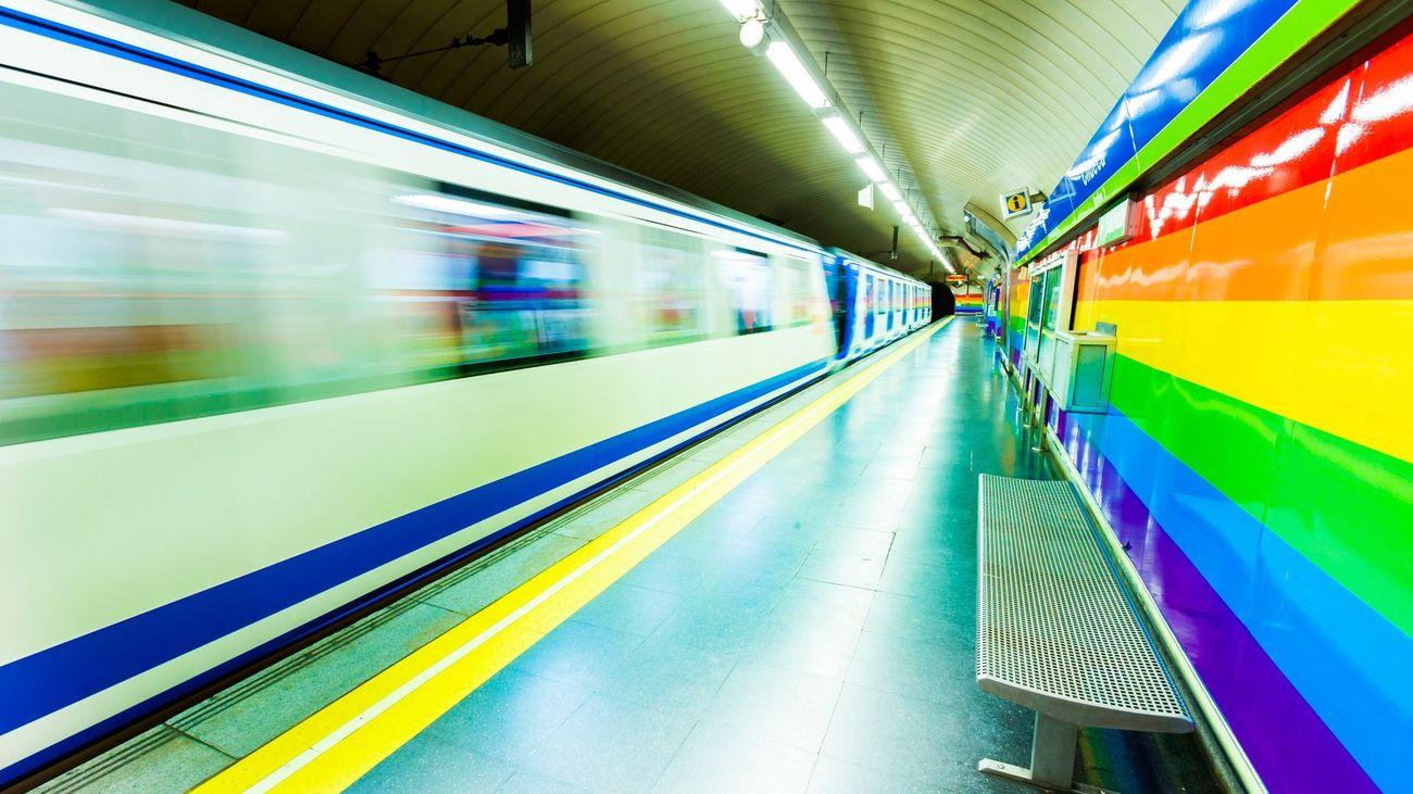 Estación de Chueca de Metro de Madrid