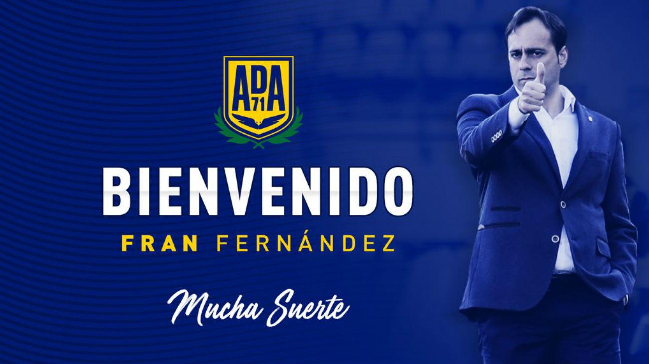 Fran Fernández, nuevo entrenador del Alcorcón