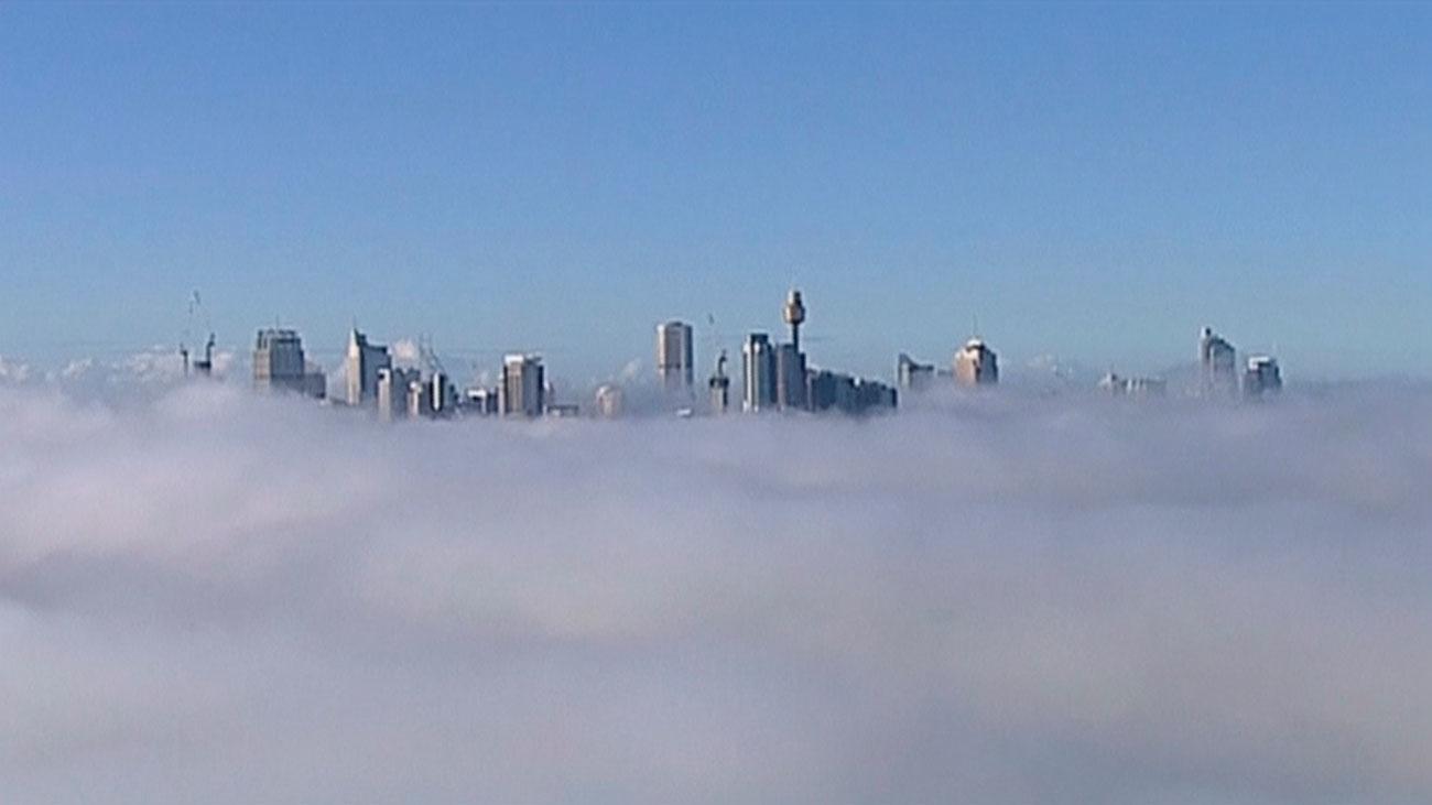 La niebla oculta Sidney