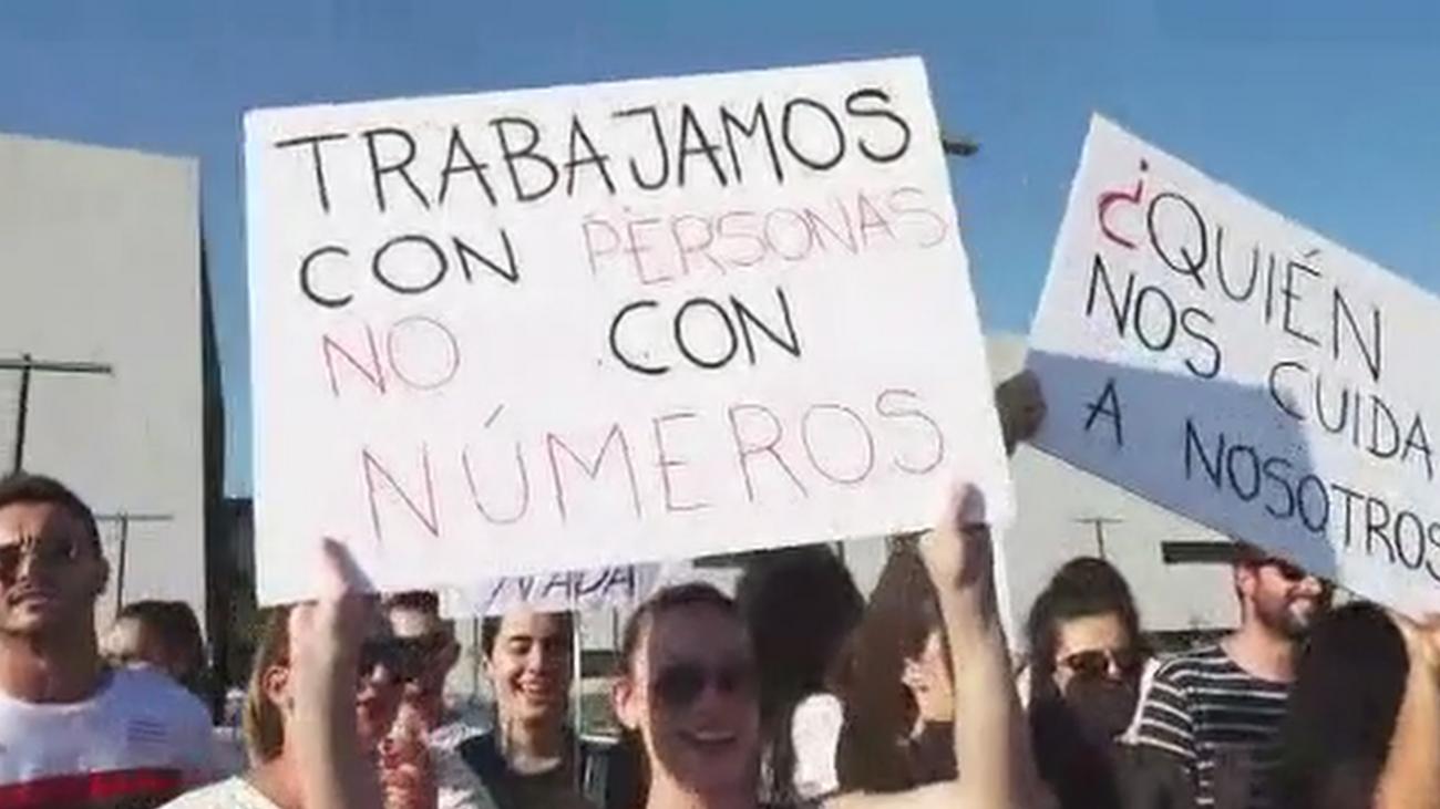 Los enfermeros del Hospital General de Villalba denuncian carga de trabajo y salarios bajos