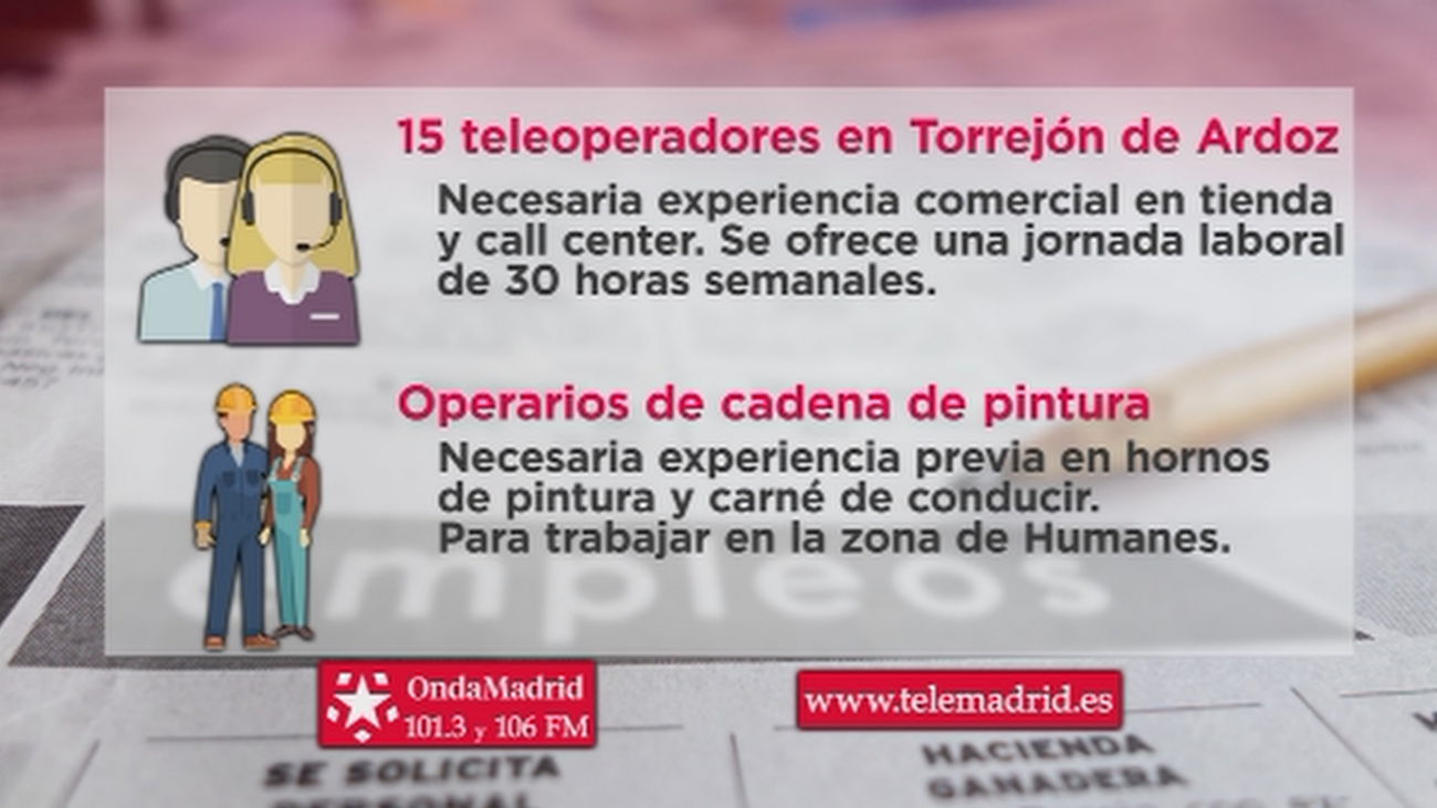 Se buscan teleoperadores para trabajar en Torrejón de Ardoz