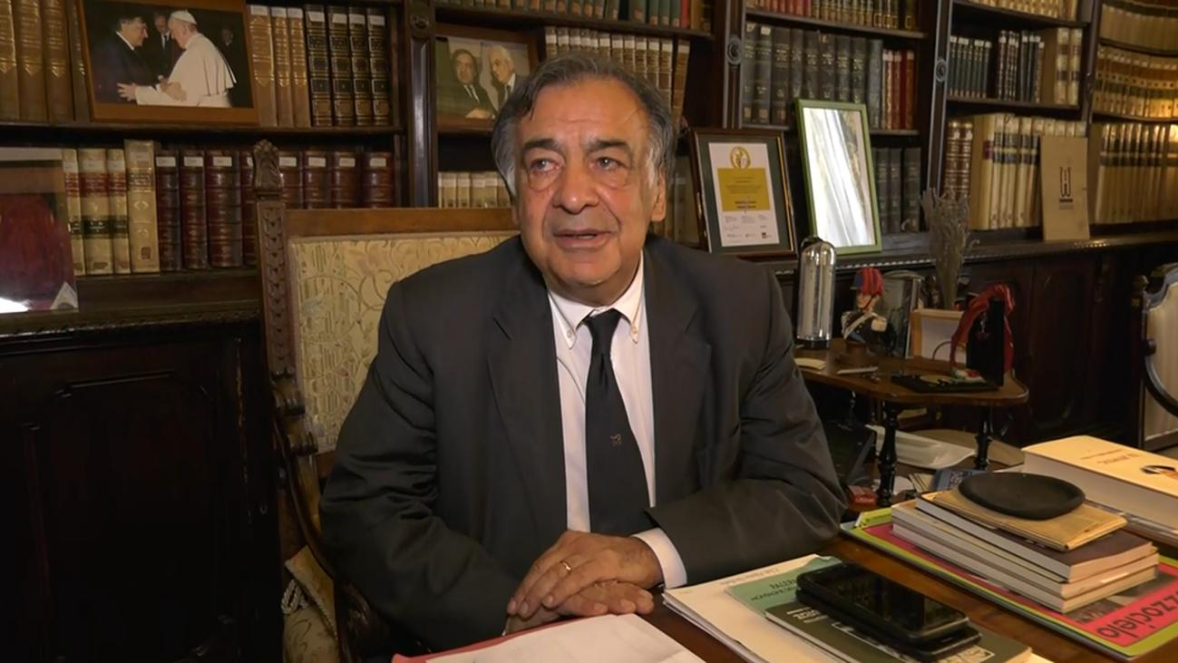 Hablamos con Leoluca Orlando, alcalde de Palermo