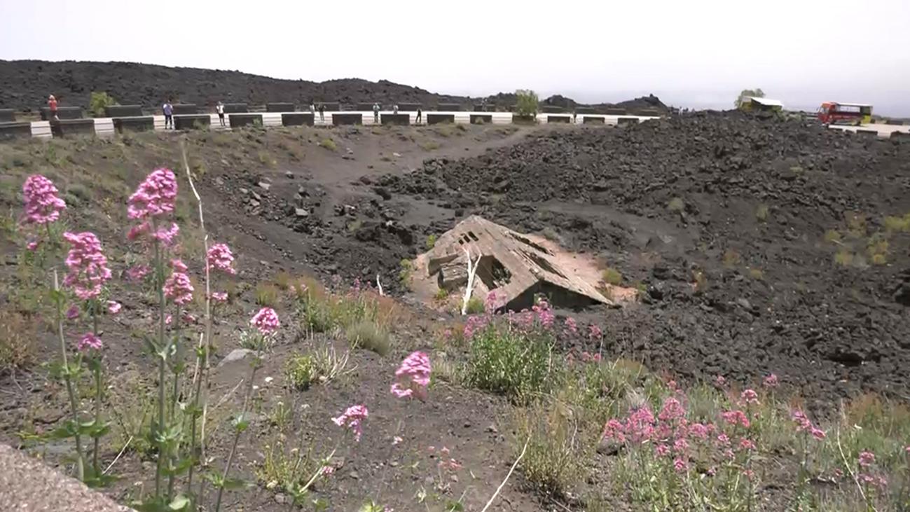 Nos adentramos en el volcán Etna