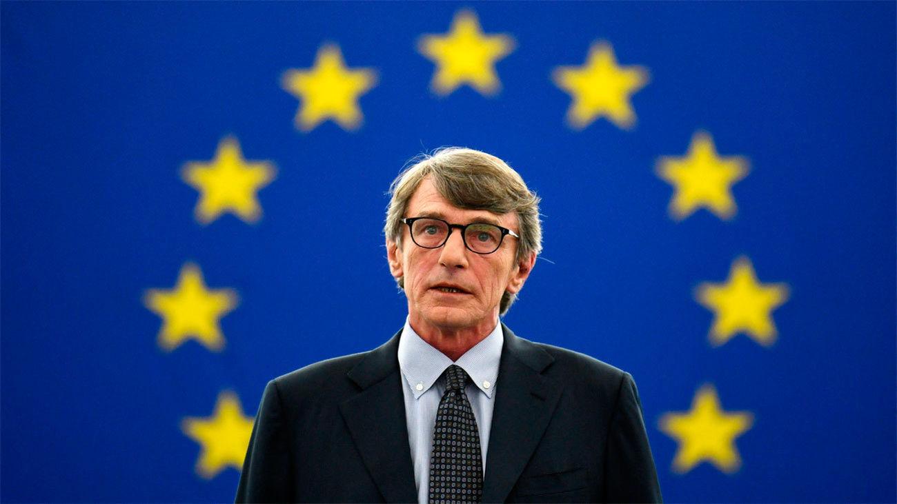 El socialista italiano David Sassoli, elegido presidente del Parlamento Europeo