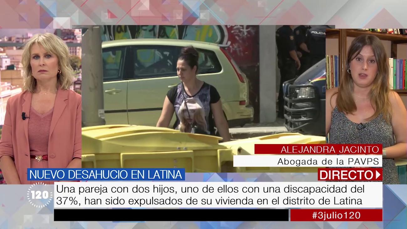 Desahuciada una familia en Latina con dos hijos, uno con un 36% de discapacidad