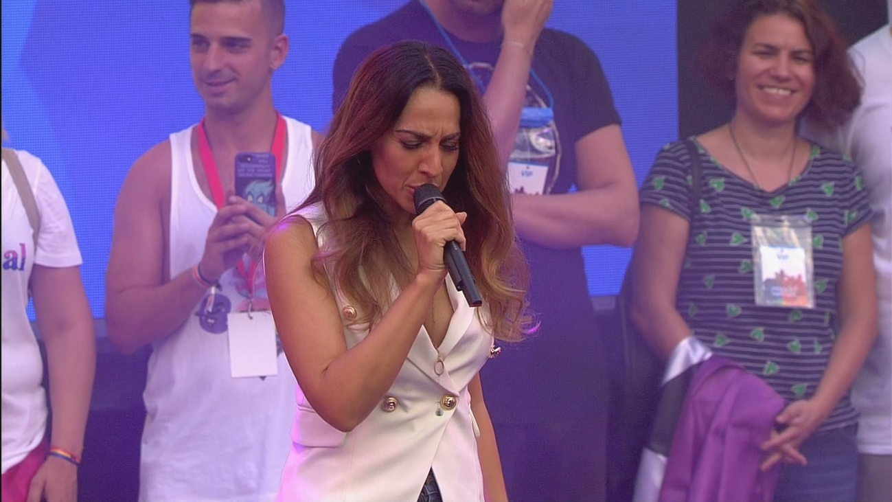 Mónica Naranjo da el pregón de las Fiestas del Orgullo 2019