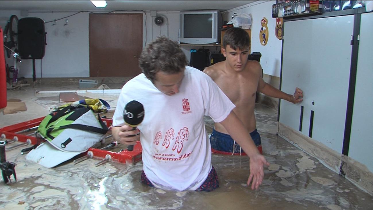 Tromba de agua en Camarma de Esteruelas