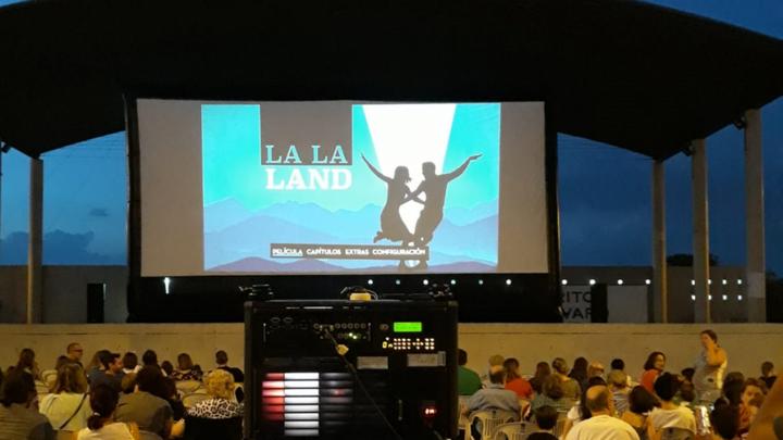 Cine de verano en Vicálvaro