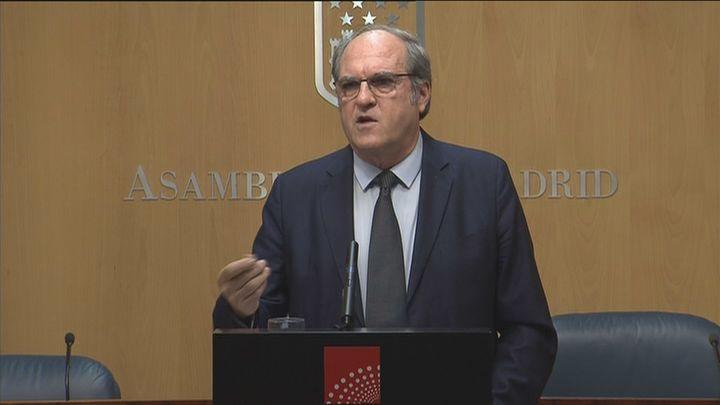 """Gabilondo cree que Ayuso quiere """"tergiversar el sentido de una investidura"""""""