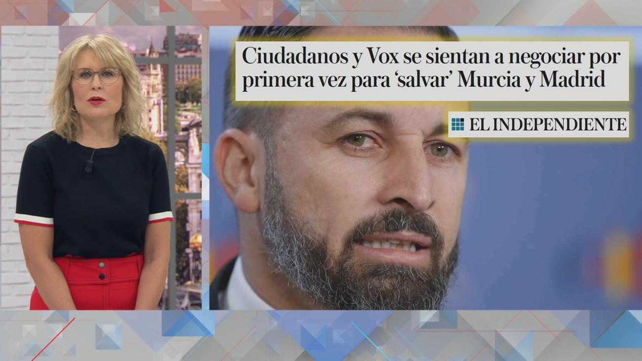 PP, Ciudadanos y Vox se reúnen para desbloquear la situación en Murcia... ¿y Madrid?